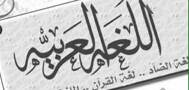 اهمية الغة العربية ومكانتها