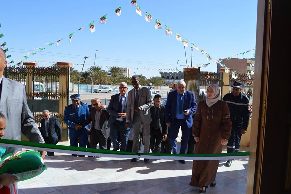 الإفتتاح الرسمي لفعاليات المهرجان الثقافي المحلي القراءة في احتفال في طبعته التاسعة